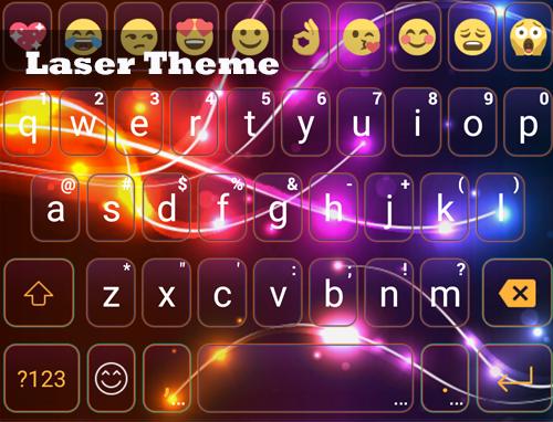 玩免費遊戲APP|下載Laser Eva Emoji Keyboard -Gifs app不用錢|硬是要APP