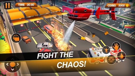 Fire Truck Emergency City Rescue: HQ Mission Sims 1.0 de.gamequotes.net 4