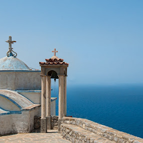 Church in Karpathos ,Greece by Nikos Pa - Buildings & Architecture Places of Worship ( church, greece, karpathos, summer, places of worship )