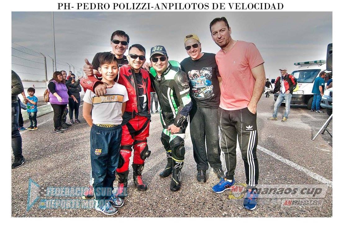 El grupo de Trelew en Roca (Foto: Pedro Polizzi).