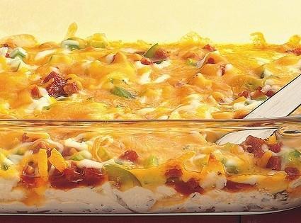 Layered Pizza Dip Recipe