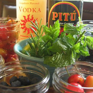 Infusing Liquors With Flavor