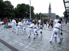 Photo: TO FINISH A MASS UPTON IN FRONT OF THE FINISH NATIONAL MUSEUM    http://en.wikipedia.org/wiki/National_Museum_of_Finland