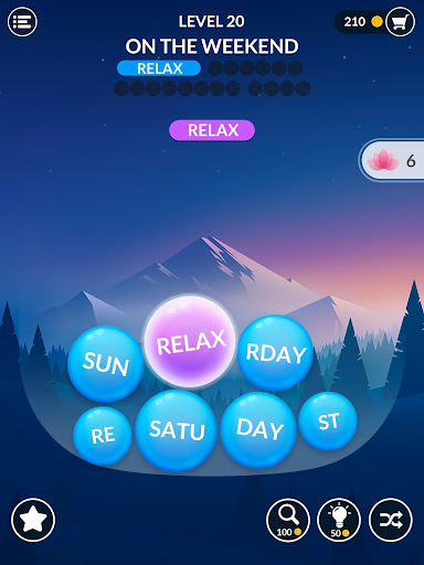 Word Serenity - Calm & Relaxing Brain Puzzle Games screenshots 15