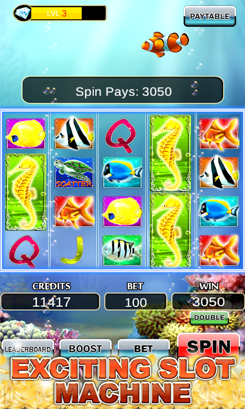 Slot machine fish slots android apps on google play for Fish slot machine
