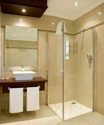 Glass Bathroom Design