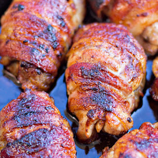 Bacon Wrapped Ginger Soy Chicken