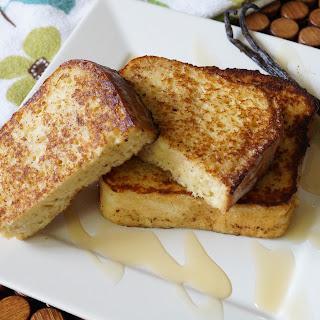 Vanilla Honey French Toast.