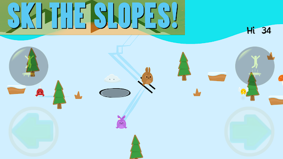 Snow Bunnies: Zombie Ski Run!- screenshot thumbnail