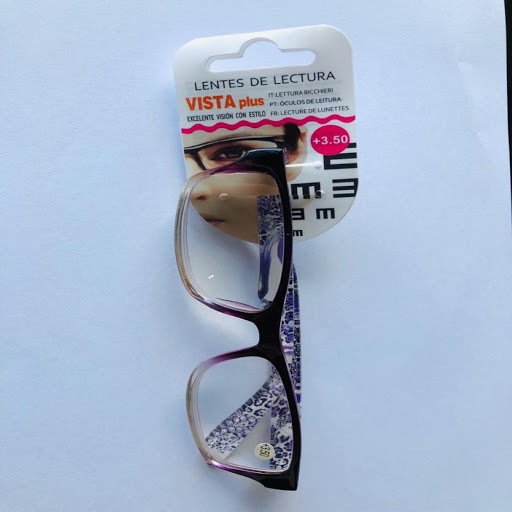 lentes de lectura morado +3.50
