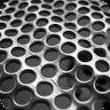 Chrome Metal Live Wallpaper icon
