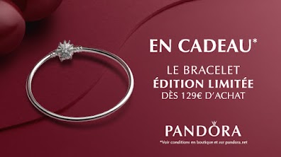 Bracelet Pandora édition limitée offert dès 129€ d'achat