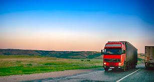 Transporte de mercancías por carretera.