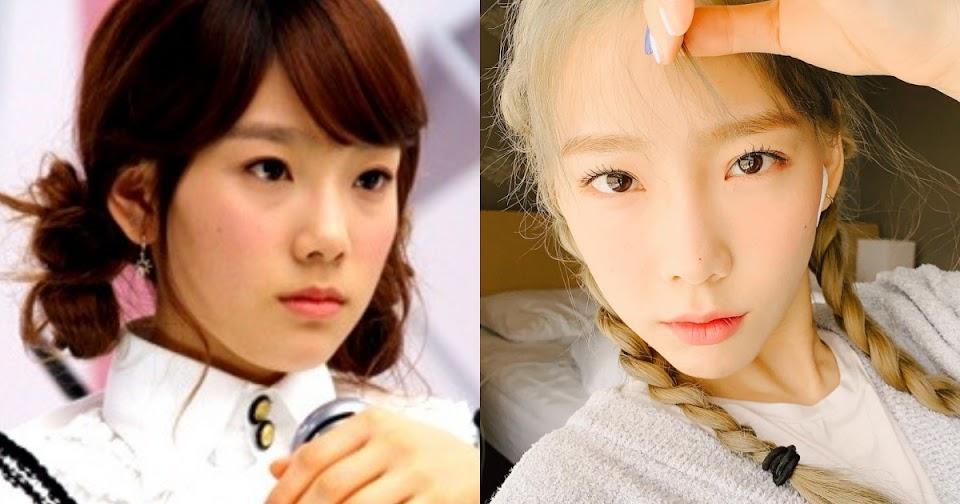 taeyeon 2007 vs now