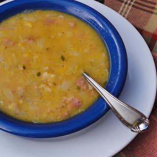 Swedish Yellow Split Pea Soup.