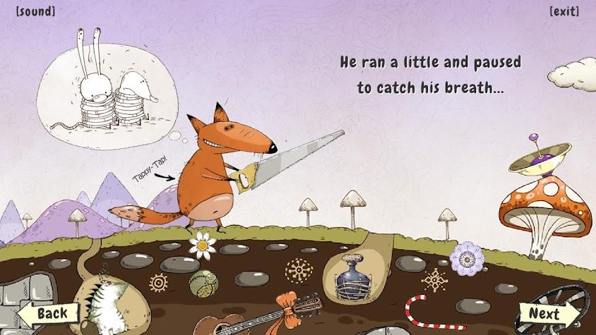 Icky Mr Fox's Rainbow Screenshot