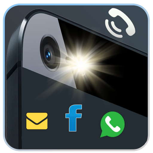 Flash Alerts on Call Sms Apps