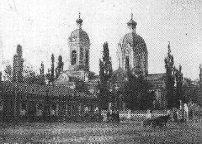 «Гніздо контрреволюції» — Іоано-Предтеченська (Квіткинська) церква на Основі. Знищена радянською владою