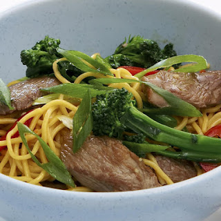 Spicy Lamb and Broccolini Stir-Fry