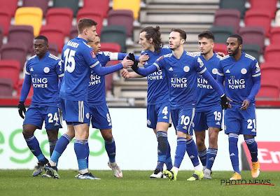 FA Cup : mené par Youri Tielemans, Leicester écarte Brentford