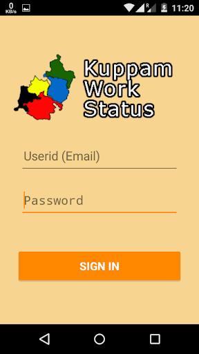 Andhra Pradesh Work Status