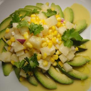 JíCama-Avocado Salad with Citrus Vinaigrette Recipe
