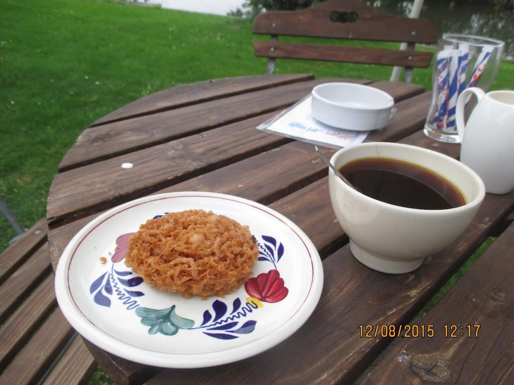 Koffie met drabbelkoek