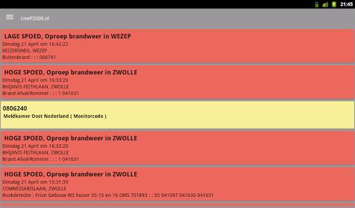 LiveP2000.nl - Free Meldingen v1.3.1c Screenshots 12