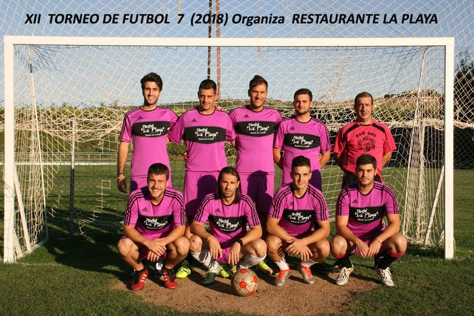 """Torneo Futbol 7 """"La Playa de Reinoso"""" Calendario, Clasificaciones y Fotos"""