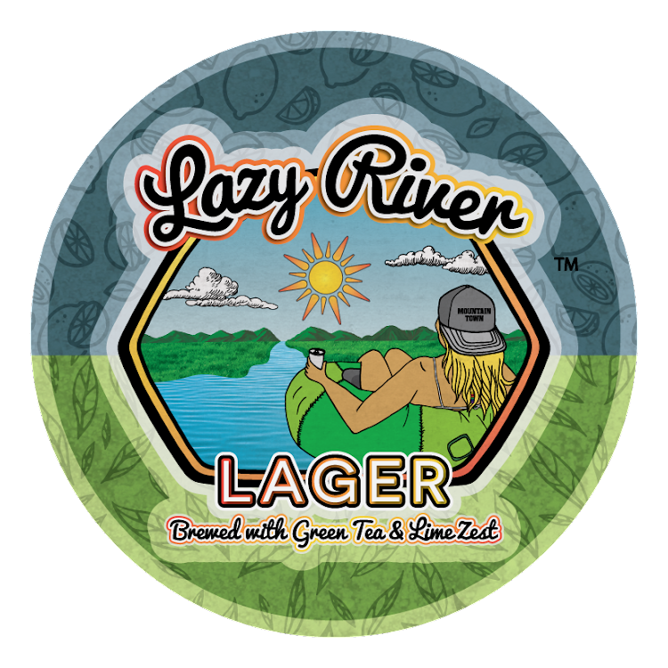 Logo of Mountain Town Lazy River Lager