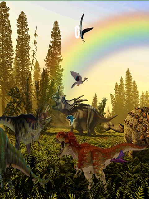 dinosaur landscape background - photo #16
