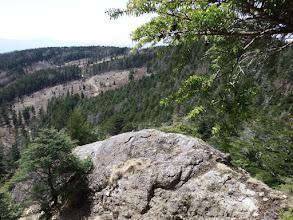 岩場の展望地