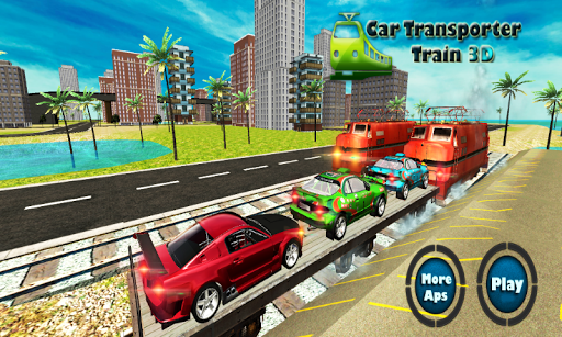 화물 열차 자동차 운송
