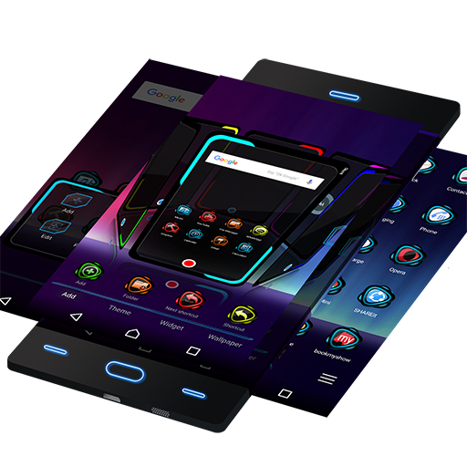 Free Theme for Android Shine3D Icon