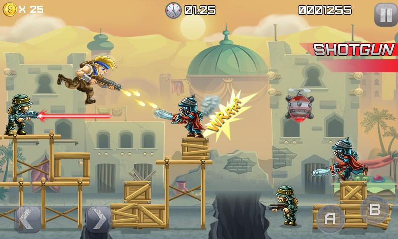 Metal Soldiers- screenshot