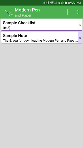 Modern Pen and Paper ss1