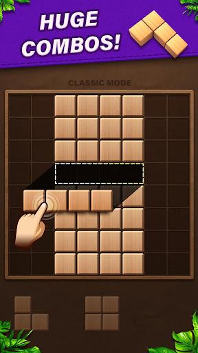 Fill Wooden Block 8x8: Wood Block Puzzle Classic  screenshots 4