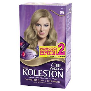 Tinte Wella Koleston   Plata N°98 X 1Und Promocion Especial 2 Tubos