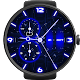 Neon Blue Watch Face APK