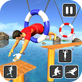 Water Stuntman Run 3D