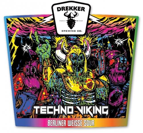 Logo of Drekker Brewing Techno Viking