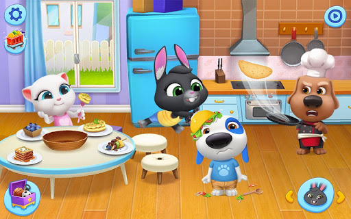 My Talking Tom Friends screenshots 12