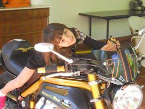 Photo: 9 giugno giovedì - le giovani motocicliste