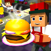 King Burger Craft: Fast Food Cooking Games