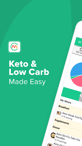 Carb Manager: Keto Diet Tracker & Macros Counter 1.3.1 screenshots 1
