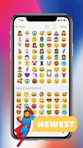 Download Emoji phone X for Android MOD APK 2