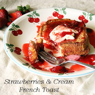Strawberries & Cream French Toast