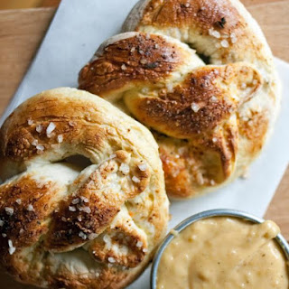 Pub-Style Pretzels and Beer Cheese Sauce.