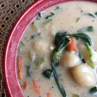 Vegetable Gnocchi Soup | Vegan (Olive Garden Inspired) Recipe
