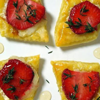 Strawberry Brie Tartlets